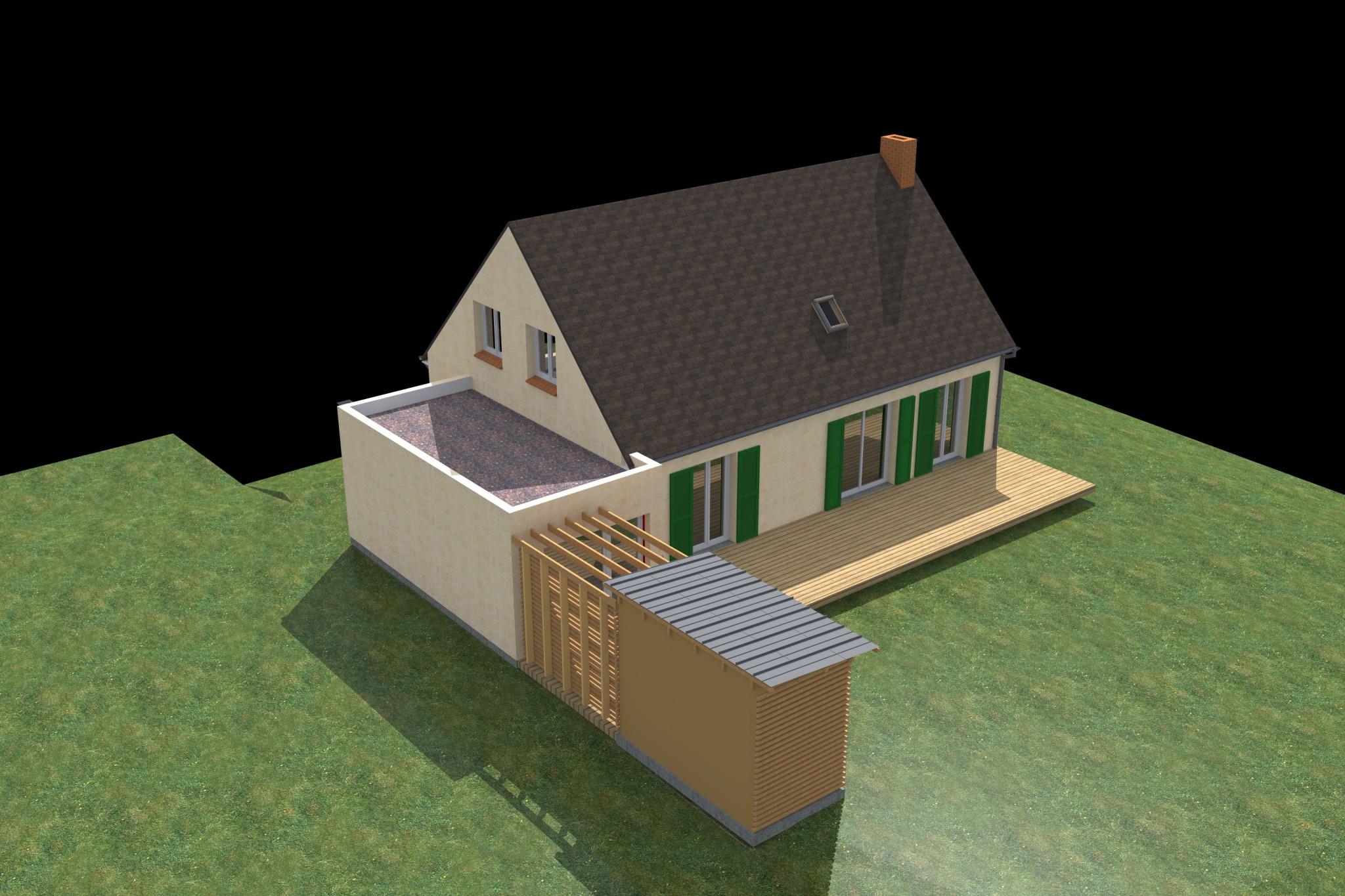 architecte extension maison 17. Black Bedroom Furniture Sets. Home Design Ideas