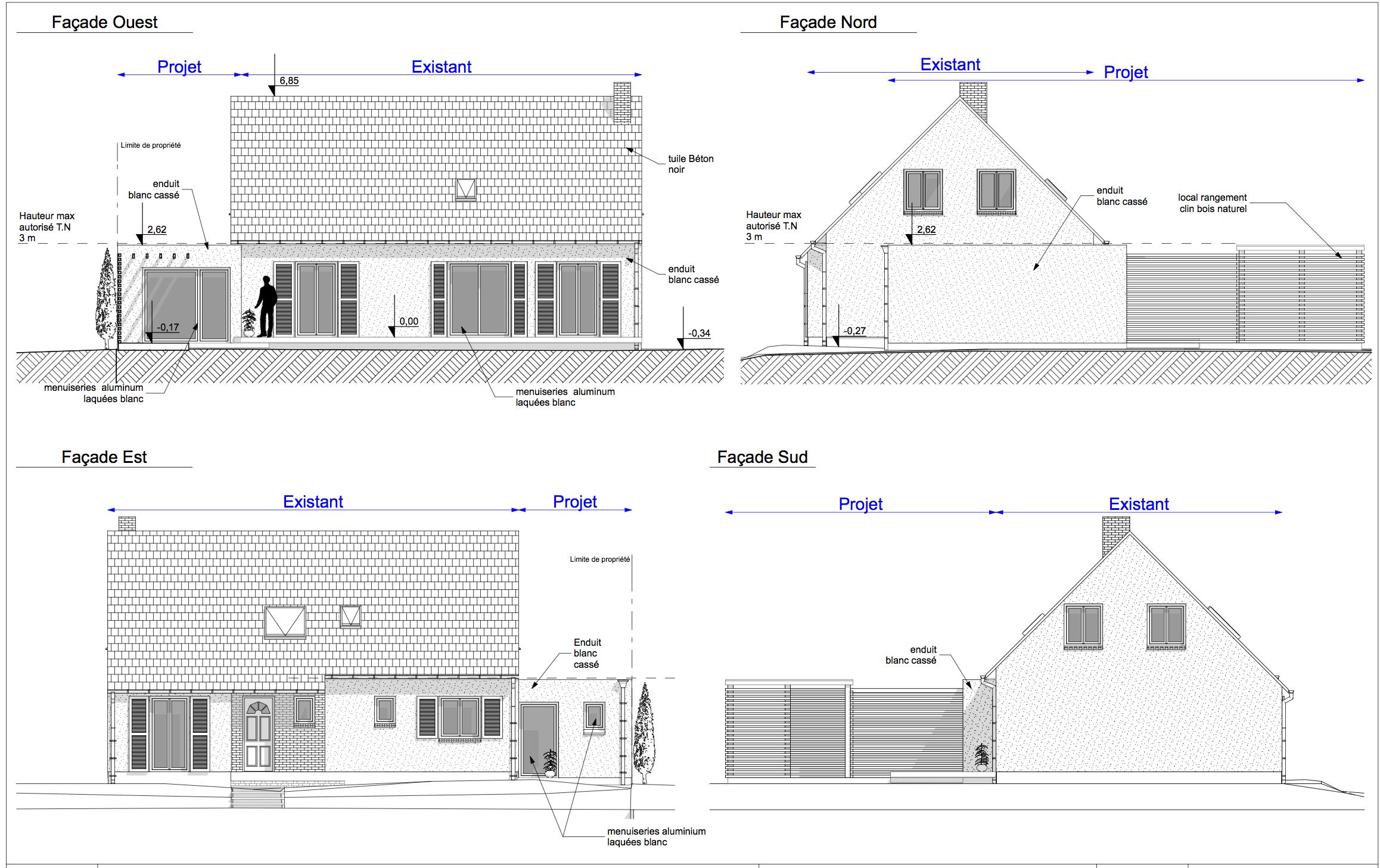 extension d une maison d habitation mesnil esnard 76 jean hugues berville architecte rouen. Black Bedroom Furniture Sets. Home Design Ideas
